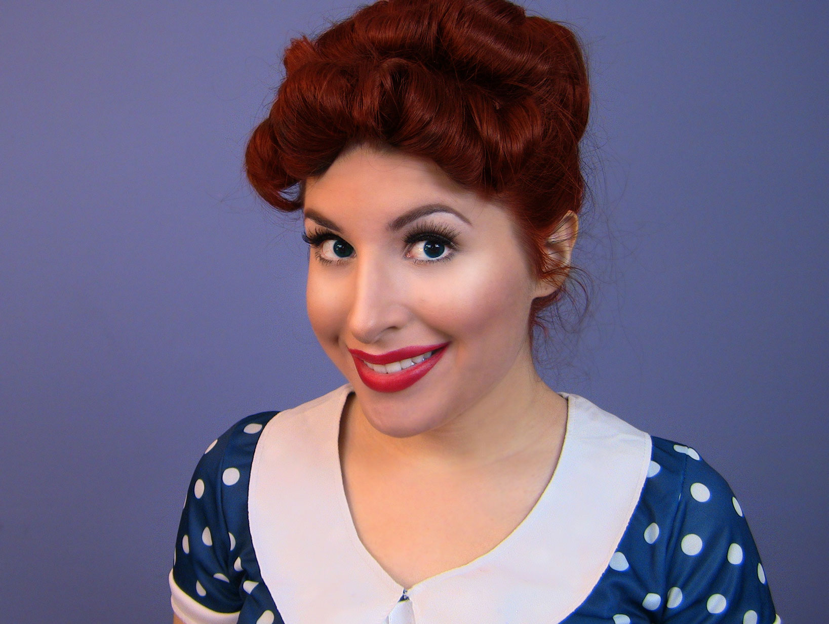 Lucille Ball Natural Hair Color